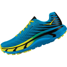 Hoka One One Evo Mafate Running Shoes Dam cyan/citrus